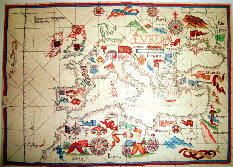 Mapa de Europa de 1563