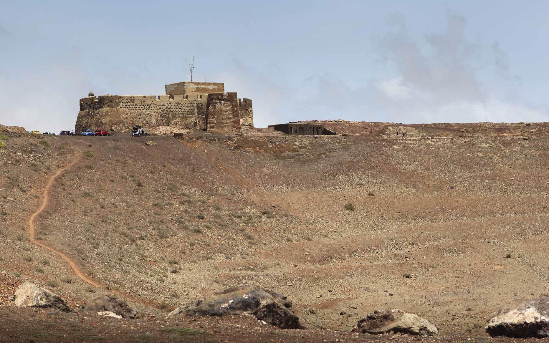 El castillo de Guanapay, foto de Ramón Pérez Niz