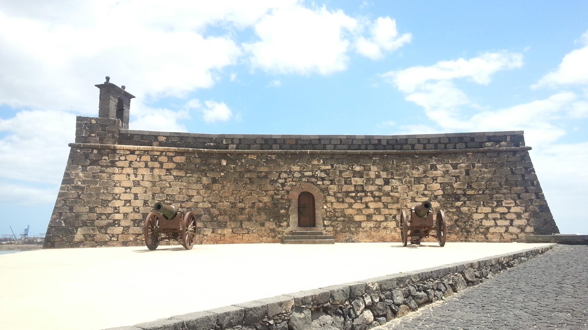 Fotografía del Castillo de San Gabriel de Arrecife, Lanzarote