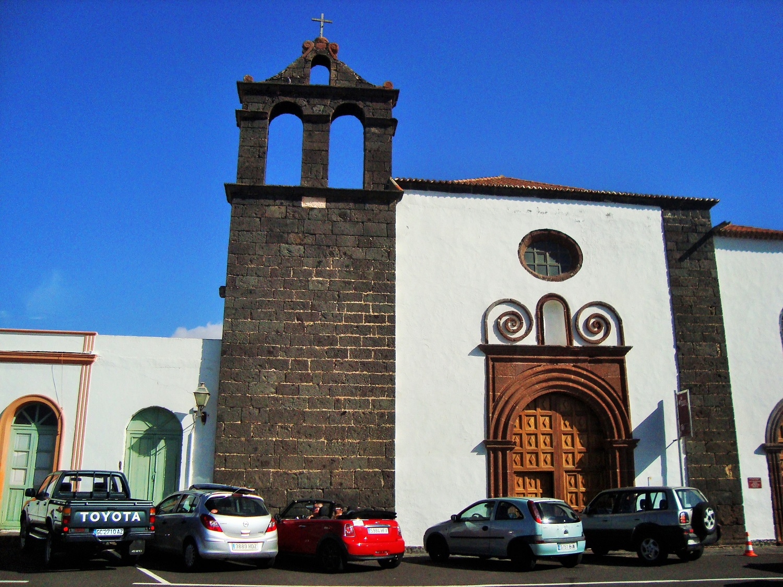 Fachada del convento de San Francisco, Teguise, Lanzarote