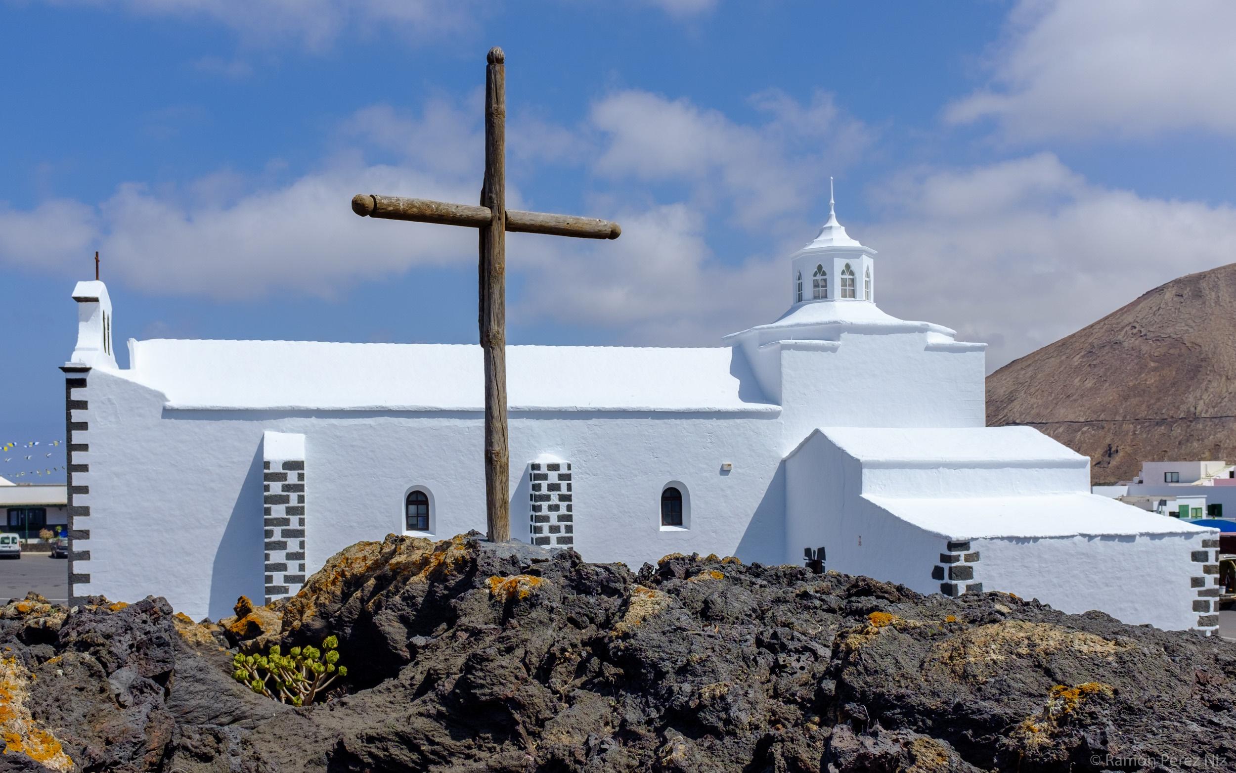 La cruz de la ermita de Los Dolores, por Ramón Pérez Niz