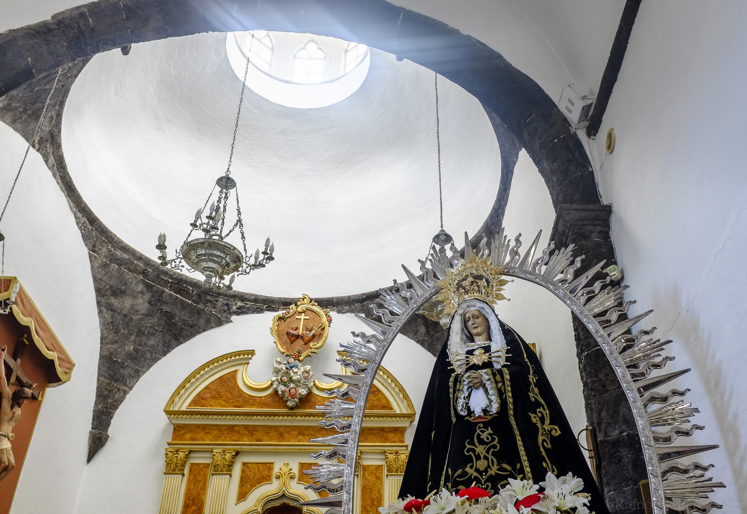 La Virgen de Los Dolores, fotografía de Ramón Pérez Niz