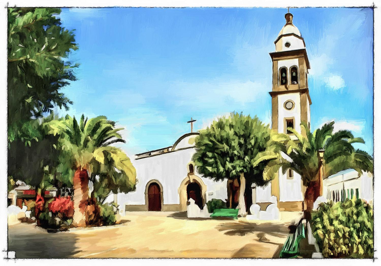 Pintura de Jorge Marsá, Iglesia de San Ginés