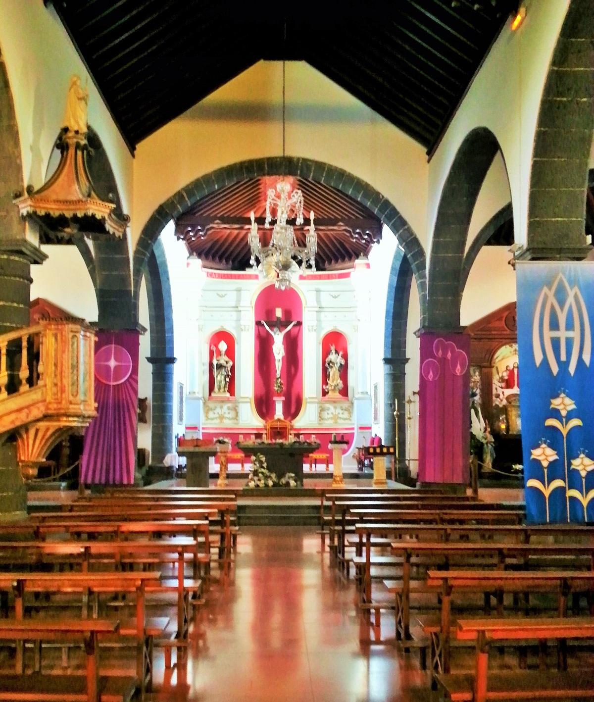 Interior Iglesia de San Ginés