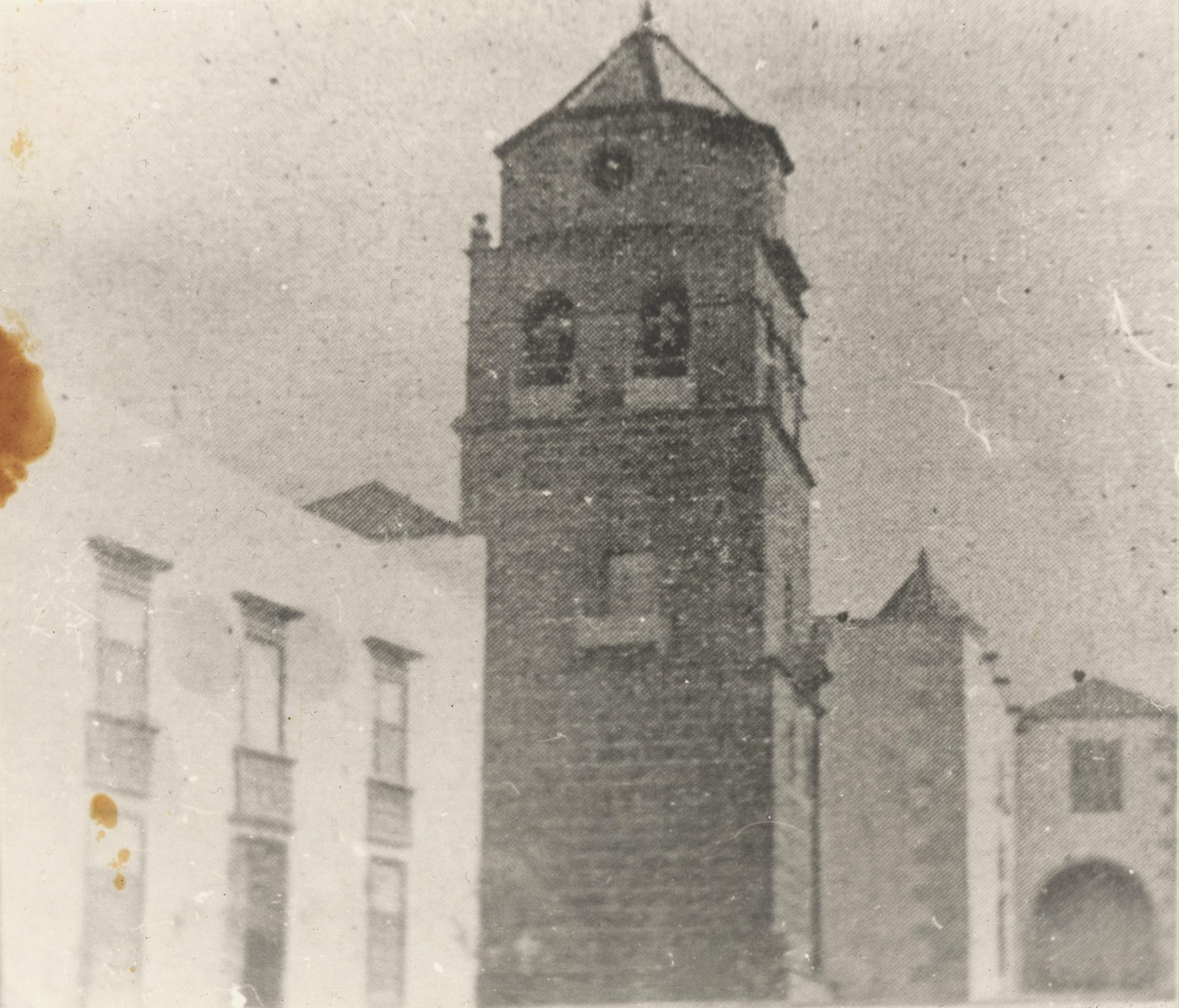 La iglesia en 1900