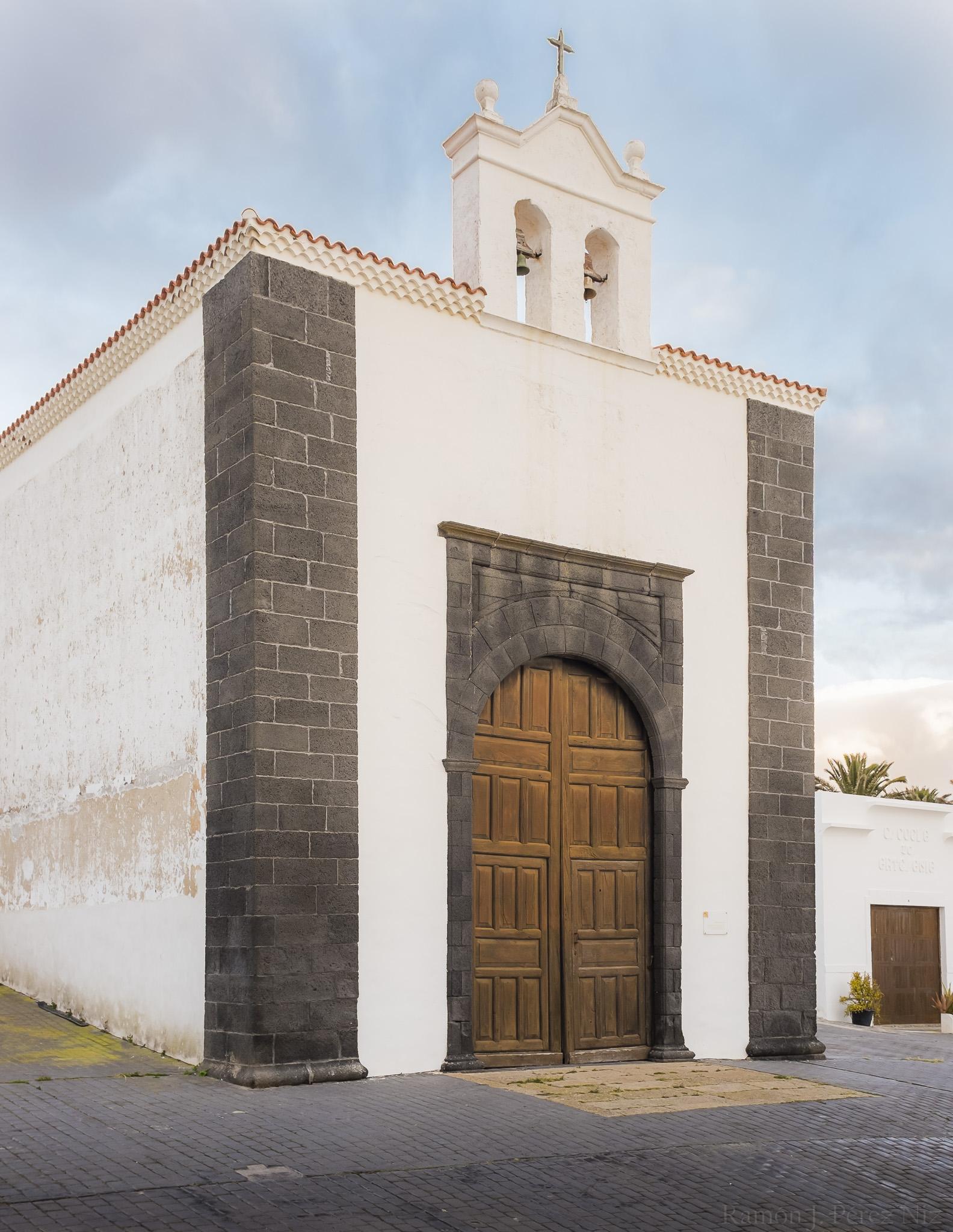 La ermita de Vera Cruz, Teguise, fotografía por Ramón Pérez Niz