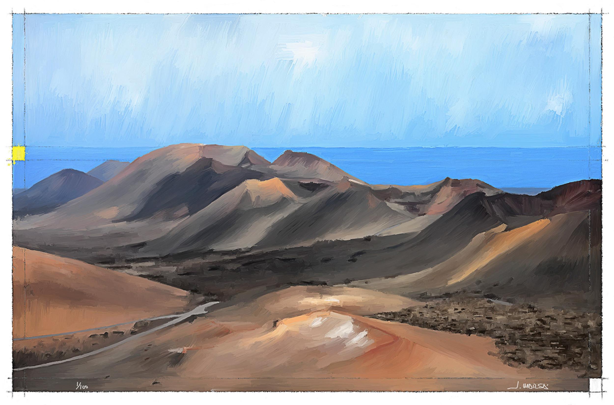 Cadena de volcanes de Timanfaya