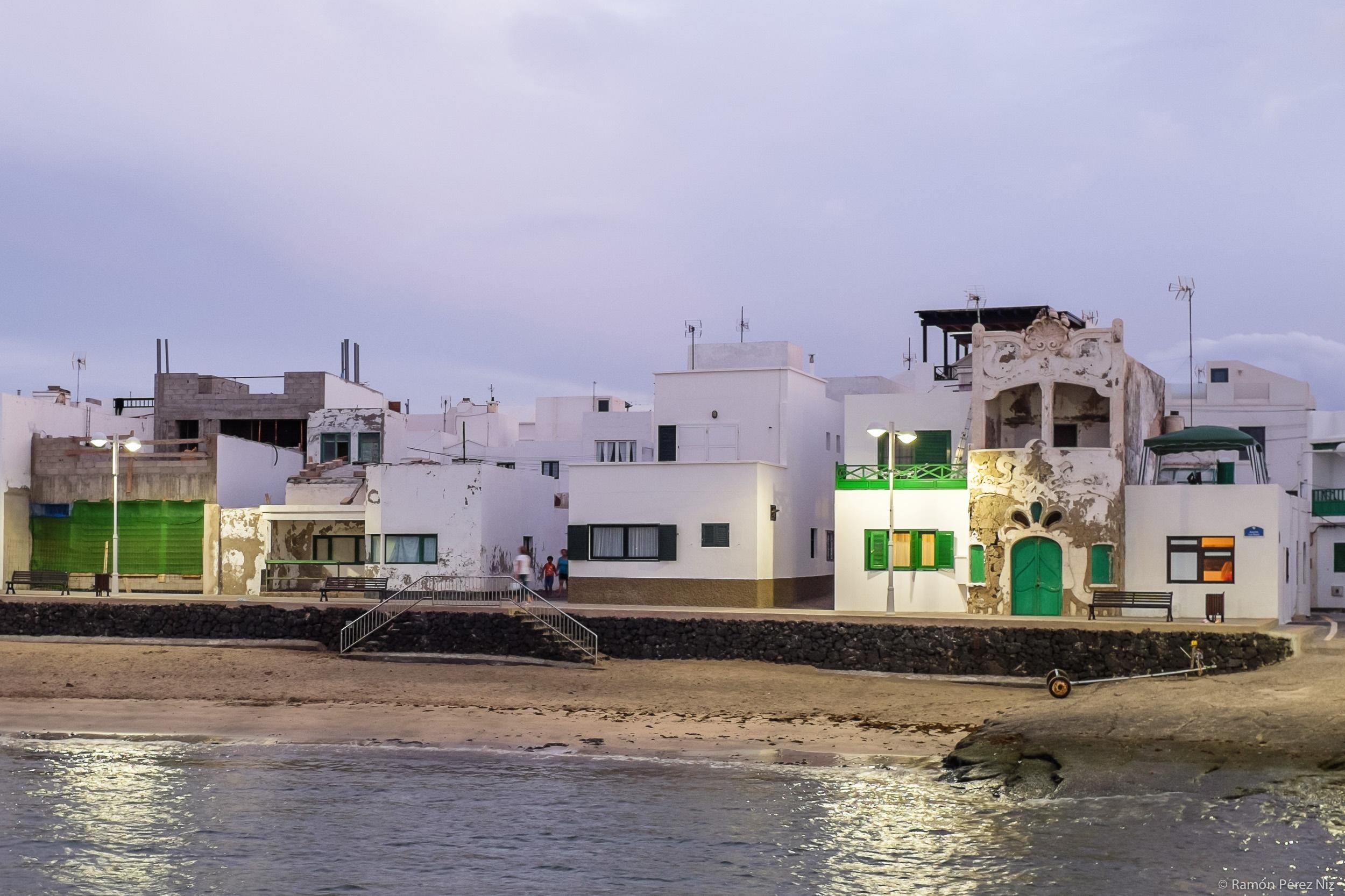 El hotelito de Caleta de Famara