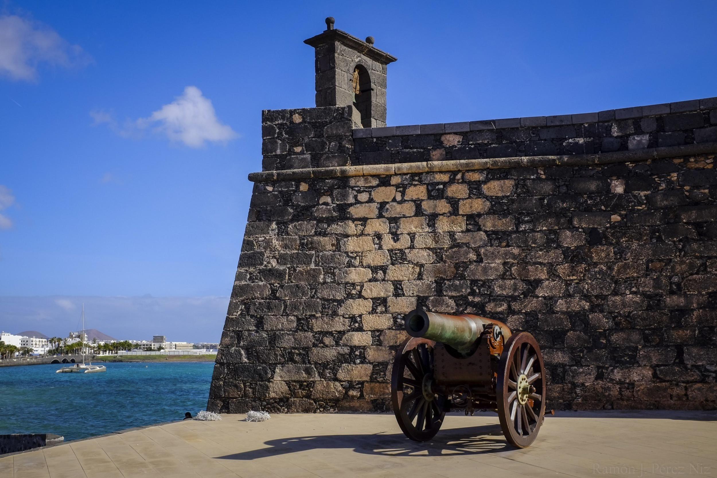 Castillo de San Gabriel, fotografía de Ramón Pérez Niz