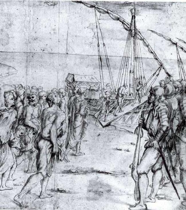 Expulsión de los moriscos (Carducho, 1627)